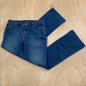 Lauren Ralph Lauren Women's Jeans Blue Size 10
